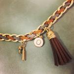 """Bracelet with letter """" O """""""